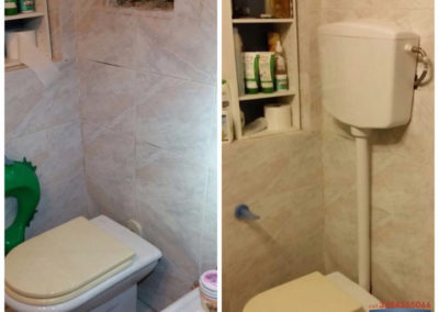 cambio vaschetta wc 2