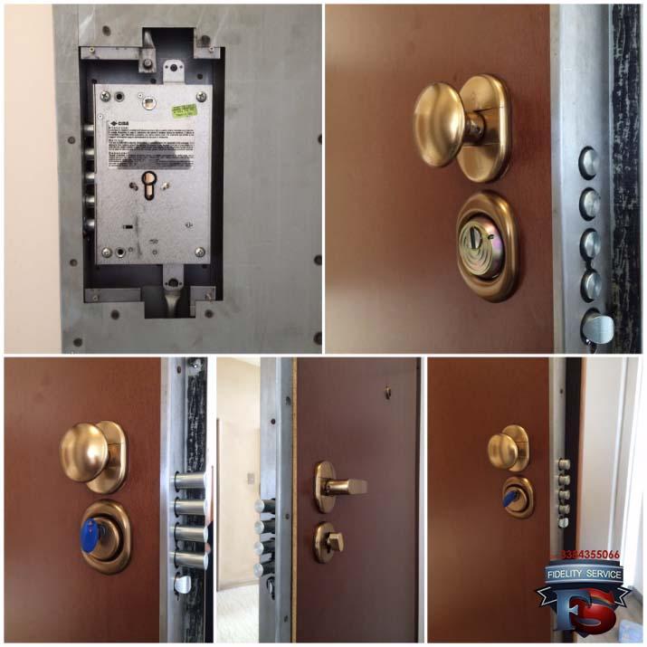 conversione serratura