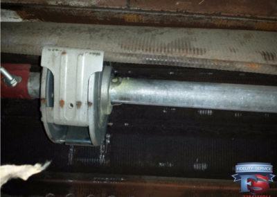 controllo molle , manutenzione ordinaria serranda.3