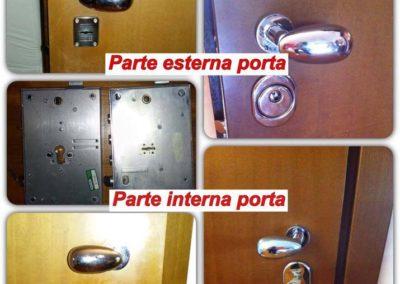 conversione serratura a doppia mappa a cilindro europeo