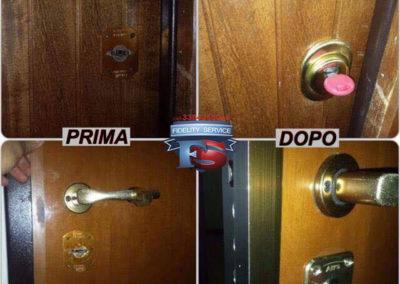 conversione serratura da doppia mappa a cilindro europeo.cisa tekno .10