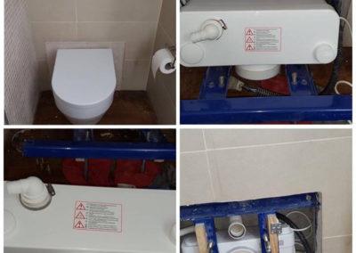 idraulico-installazione trituratrice wc